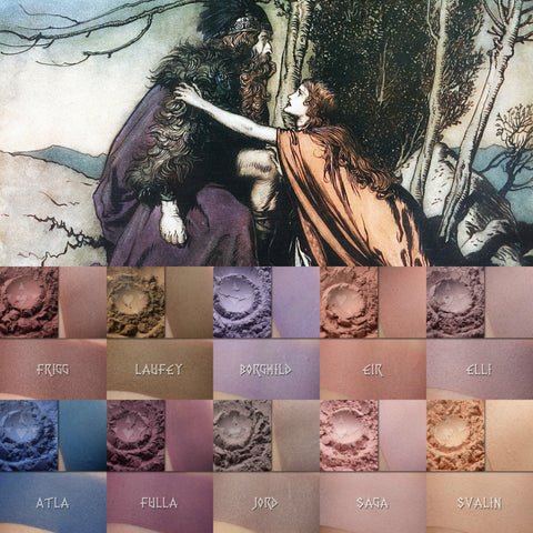 2 - Matte Saga Two: Eyeshadow Sets