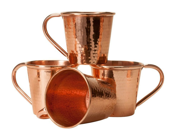 Sertodo 12 oz. Hammered Copper Moscow Mule Mug