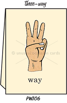 Three Way Card