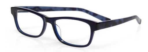 Bob Frapples (Style 2230) Readers in Black Front with Blue Matte Tortoise Temples (Color 10)