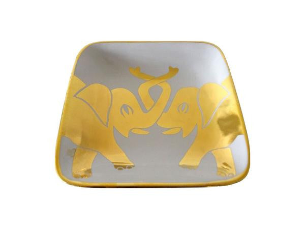 Waylande Gregory Double Elephant Square Plate