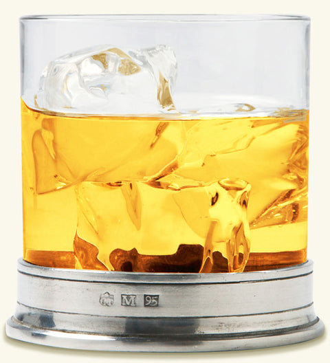 MATCH Pewter Double Old Fashioned Glass (Each)