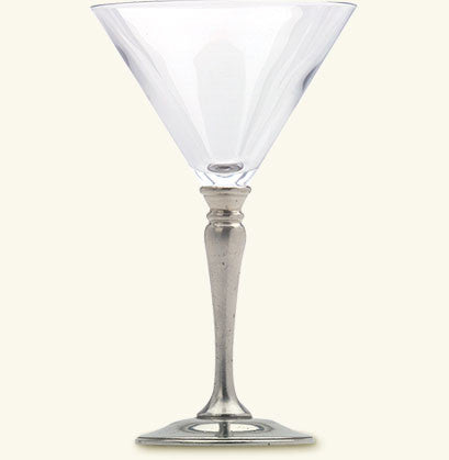 MATCH Pewter Classic Martini Glass