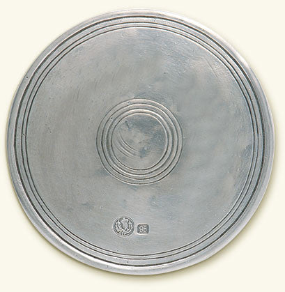 MATCH Pewter - Round Bottle Coaster