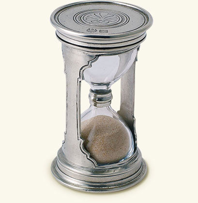 MATCH Pewter - Round Hourglass, Small.