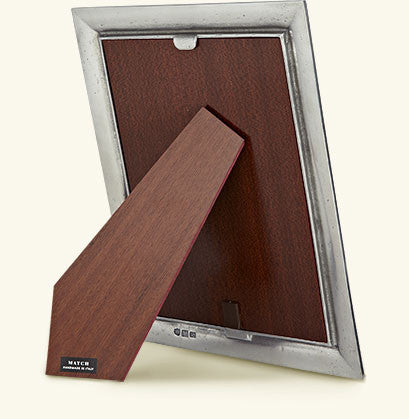 "MATCH Pewter - Toscana Square Frame, 2.5x2.5""."