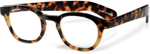 Total Wit (Style 2164) Readers in Tortoise Front and Temples (Color 19)