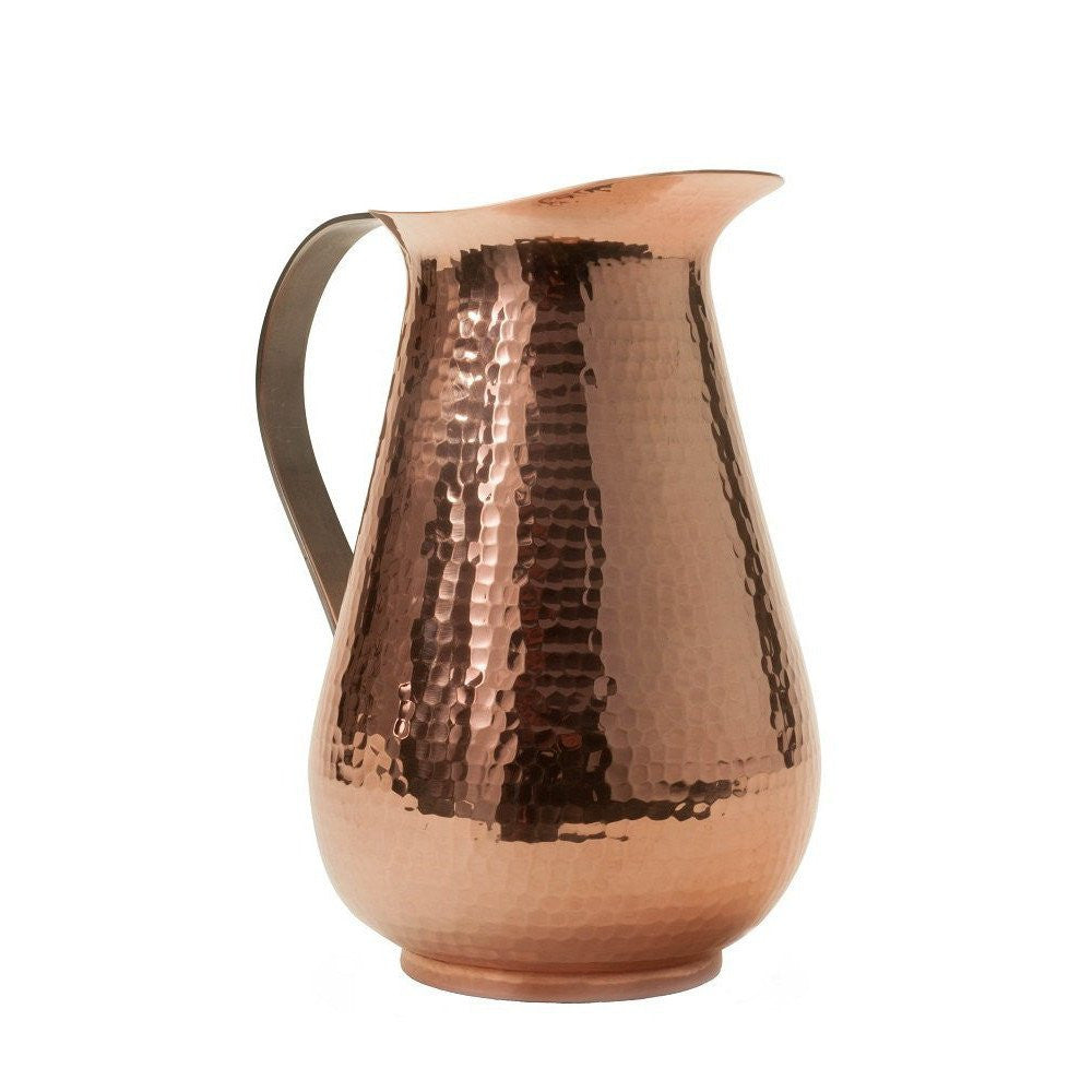Sertodo 76 oz. Hammered Copper Bisotun Water Pitcher