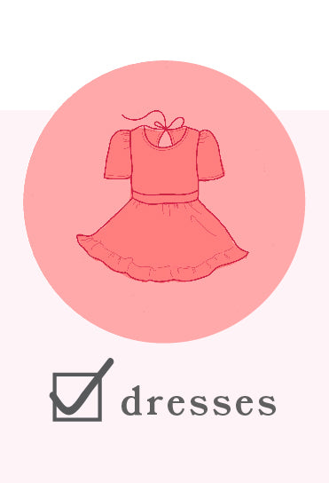 Babies, toddlers, and girls vintage inspired twirl dresses