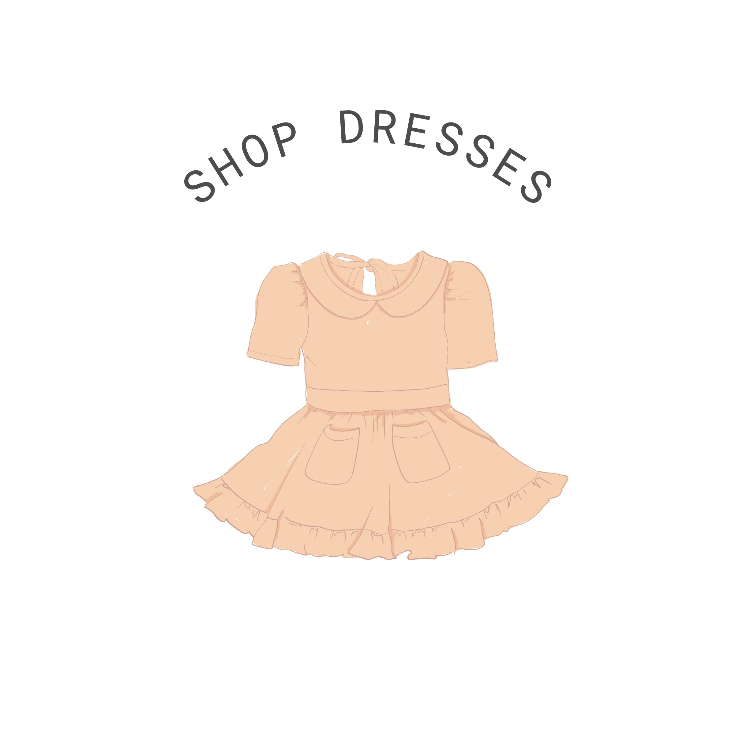 vintage inspired twirl dresses for little girls and toddlers