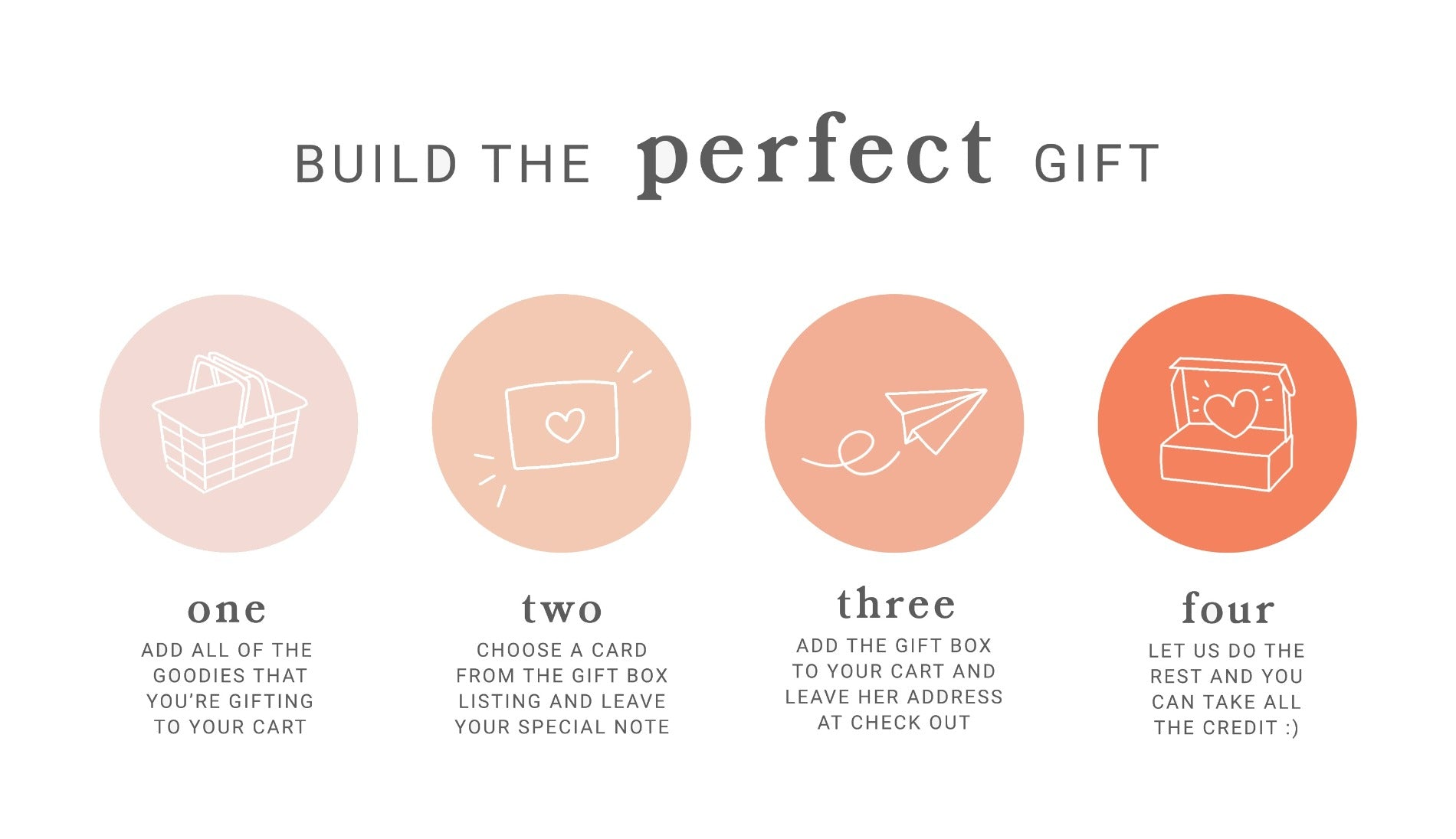 Build a box gift box for girls and babies