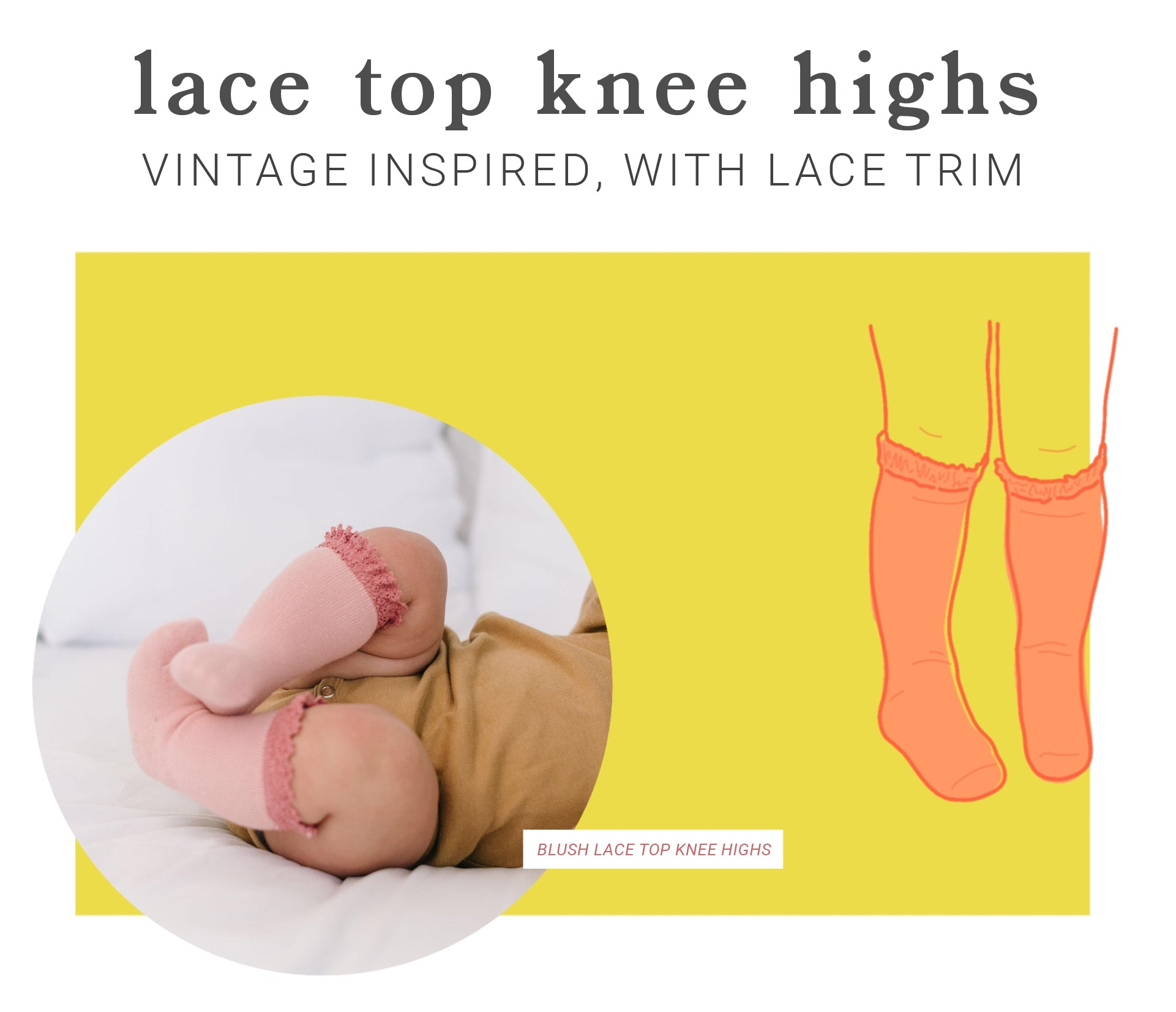 girls, babies, and toddlers lace socks