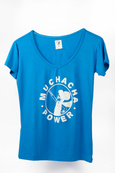 Muchacha Power Originals Women's V-neck Shirts