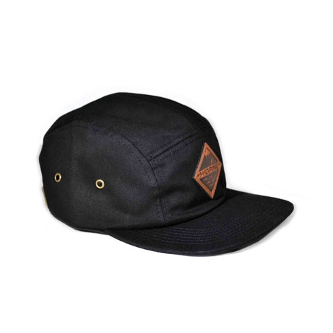 THE LAND AND SEA HAT - BLACK-MIDPINE