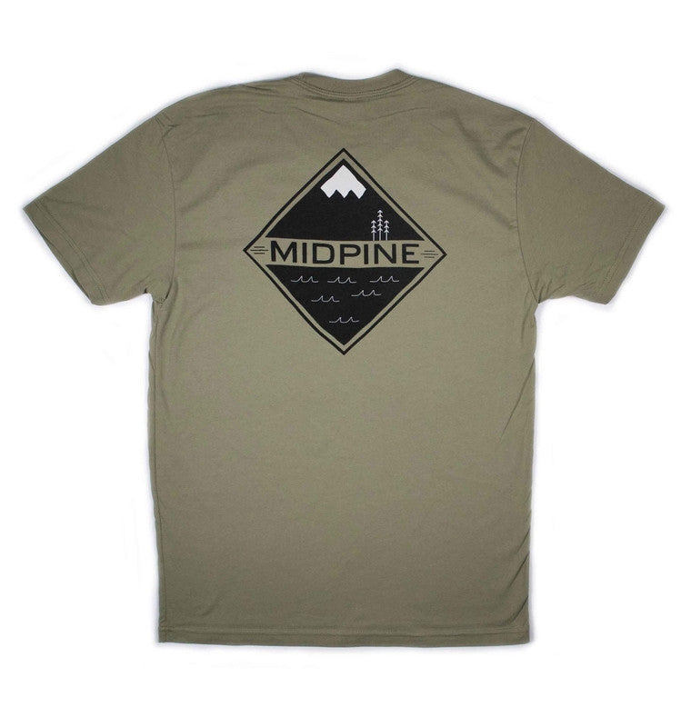 LAND AND SEA TEE-MIDPINE