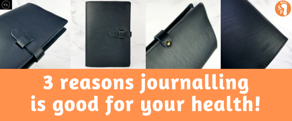 journaling is better for your health 3 reasons it's beneficial for anxiety depression mood village leathers shoes for feets leather notebook cover handcrafted italian