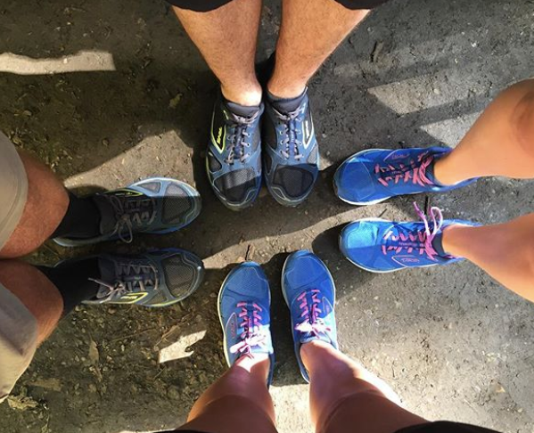 shoes for feets SFF gold coast HQ team urban adventuring expore your own backyard
