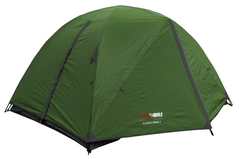 BlackWolf Classic Dome 2 Person Tent Tents Green / 2P