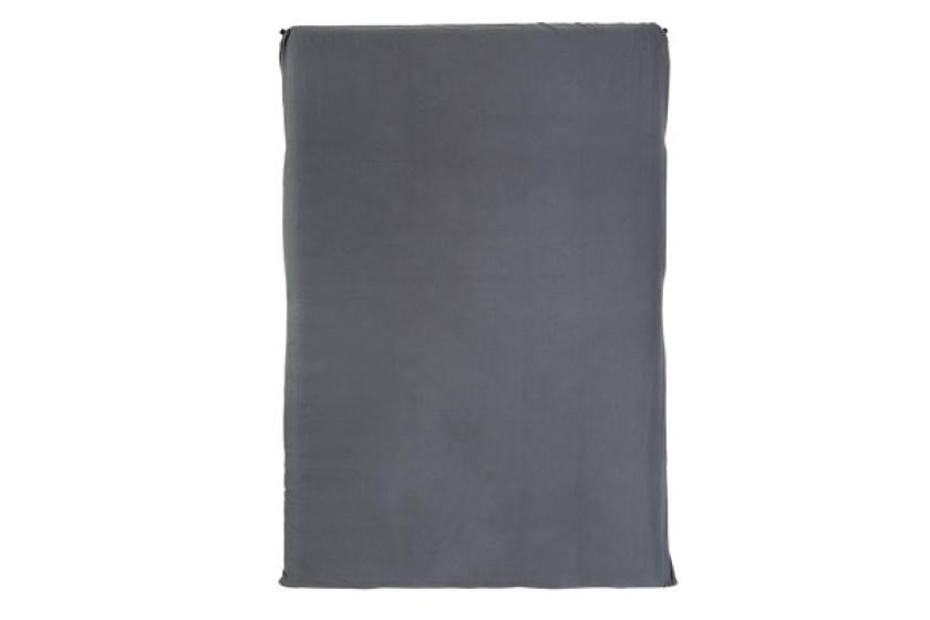 BlackWolf Fitted Mat Sheet Double Sleeping Mats Grey / Queen