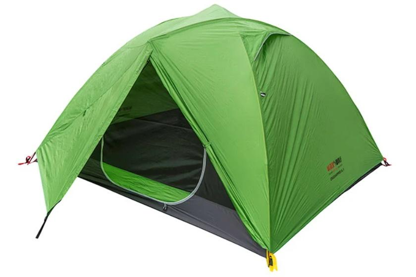 BlackWolf Grasshopper UL 3 Adventure Tent Tents Green / 3P