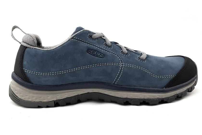 Keen Women's Terradora Leather Sneaker Lace-up Blue Mirage / US7 | EU37.5 | UK4.5 | 24CM