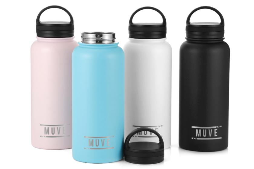 MUVE Large Insulated Water Bottle ( 946ml ) Drink Bottle