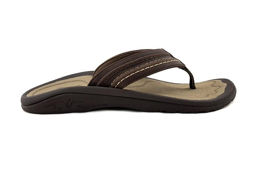 Olukai Men's Hokua Ale Sandal Dark Shadow / Dark Shadow / US9 | EU42 | UK8.5 | 26CM