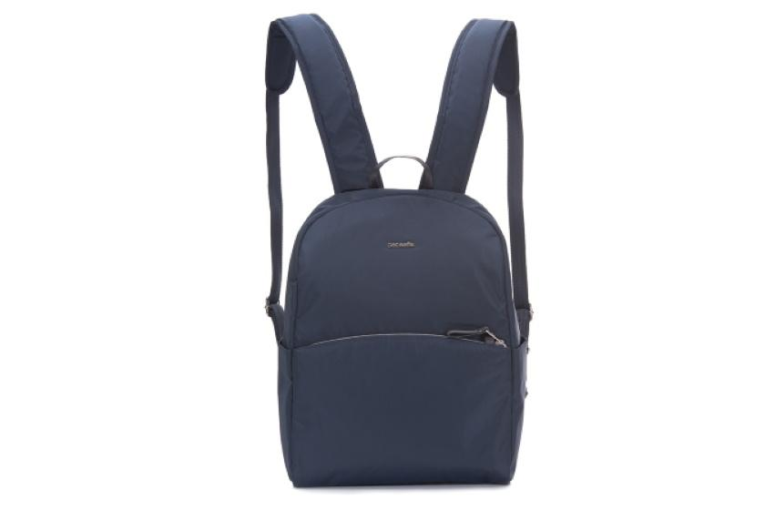 Pacsafe Stylesafe anti-theft backpack Backpacks Navy / 12L