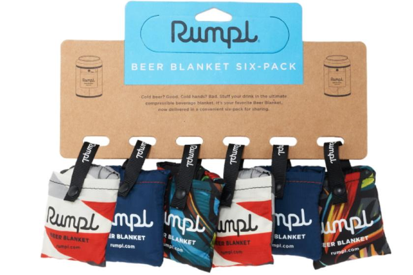 Rumple Six Pack Beer Blanket Drink Bottle Multi / 6 Pack