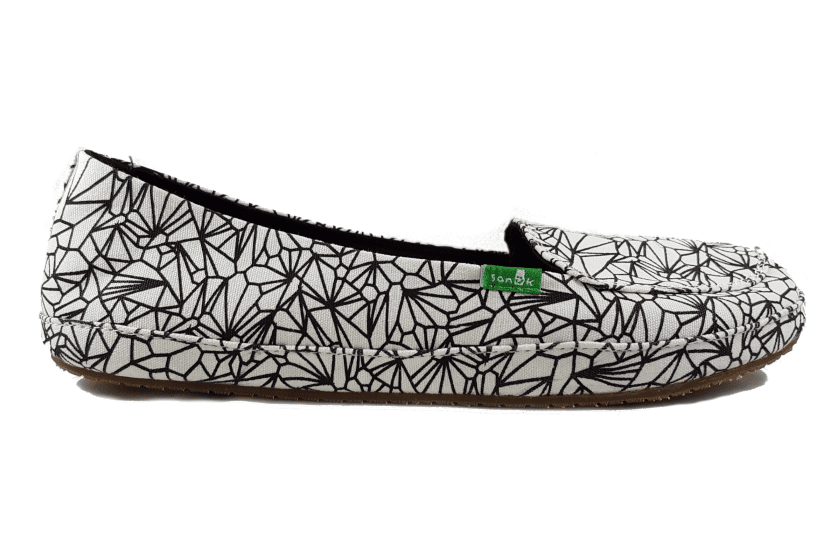 Sanuk Women's Blanche Slip- On US6 | EU37 | UK4 | 23.2CM / White Geode