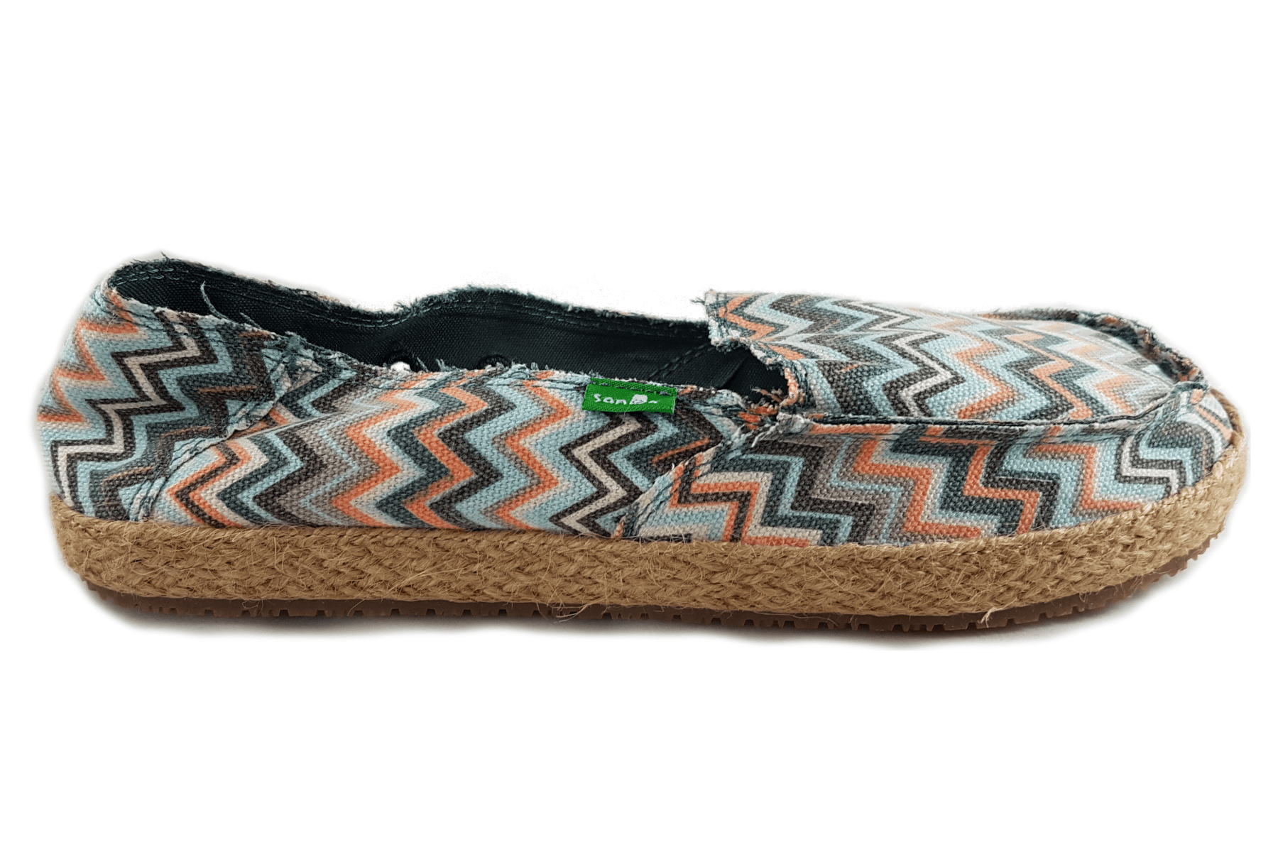 Sanuk Women's Fiona | Mallard Slip- On US5 / Mallard Chevron