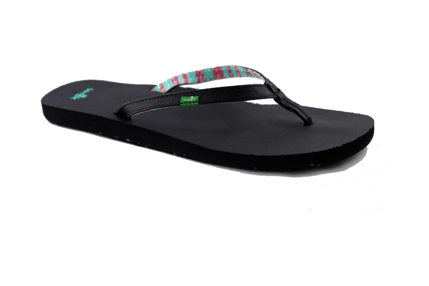 Sanuk Women's Maritime II Sandal US6 | EU37 | UK4 | 23.2CM / Black