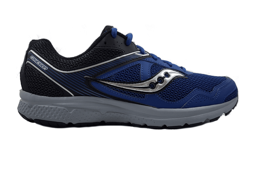 Saucony Men's Cohesion 10 Running Shoes US7.5 | EU40 | UK6.5 | 25.5CM / Navy / Black