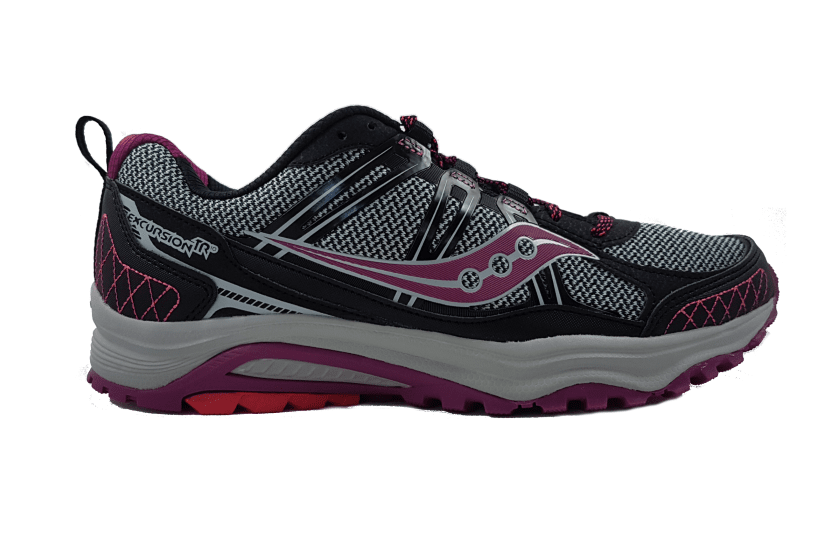 Saucony Women's Excursion TR10 Running Shoes US7.5 | EU38.5 | UK5.5 | 24CM / Blk/Ber/Cor