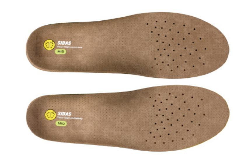 Sidas 3Feet® Outdoor Insoles Footwear Accessory