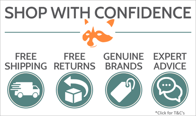 Shop with Confidence banner