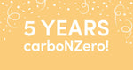 Celebrating 5 years of being carboNZero!
