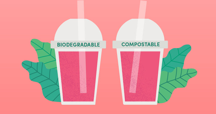 What's the difference between compostable and biodegradable?