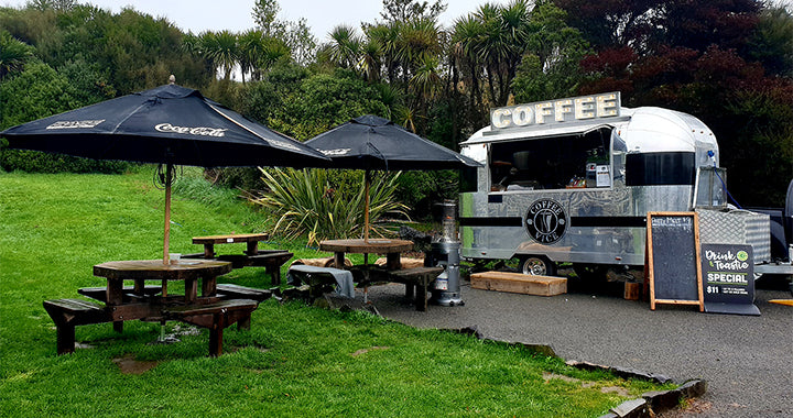 Home-grown ingenuity - be inspired by this Christchurch coffee trailer