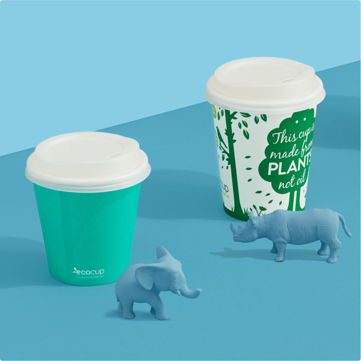 Ecoware - Compostable Hot Coffee Cups & Lids