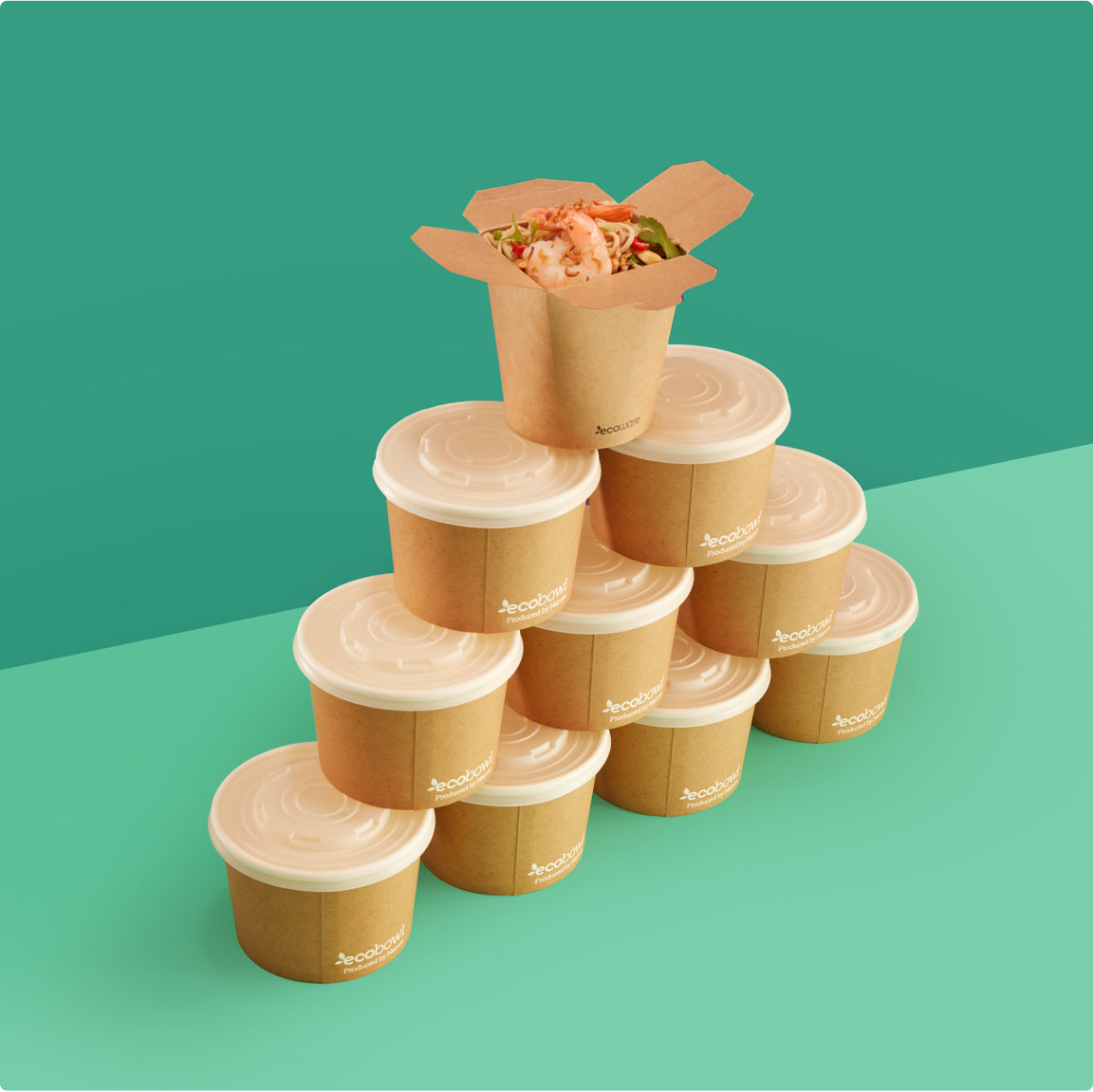 Ecoware Bamboo Food Packaging