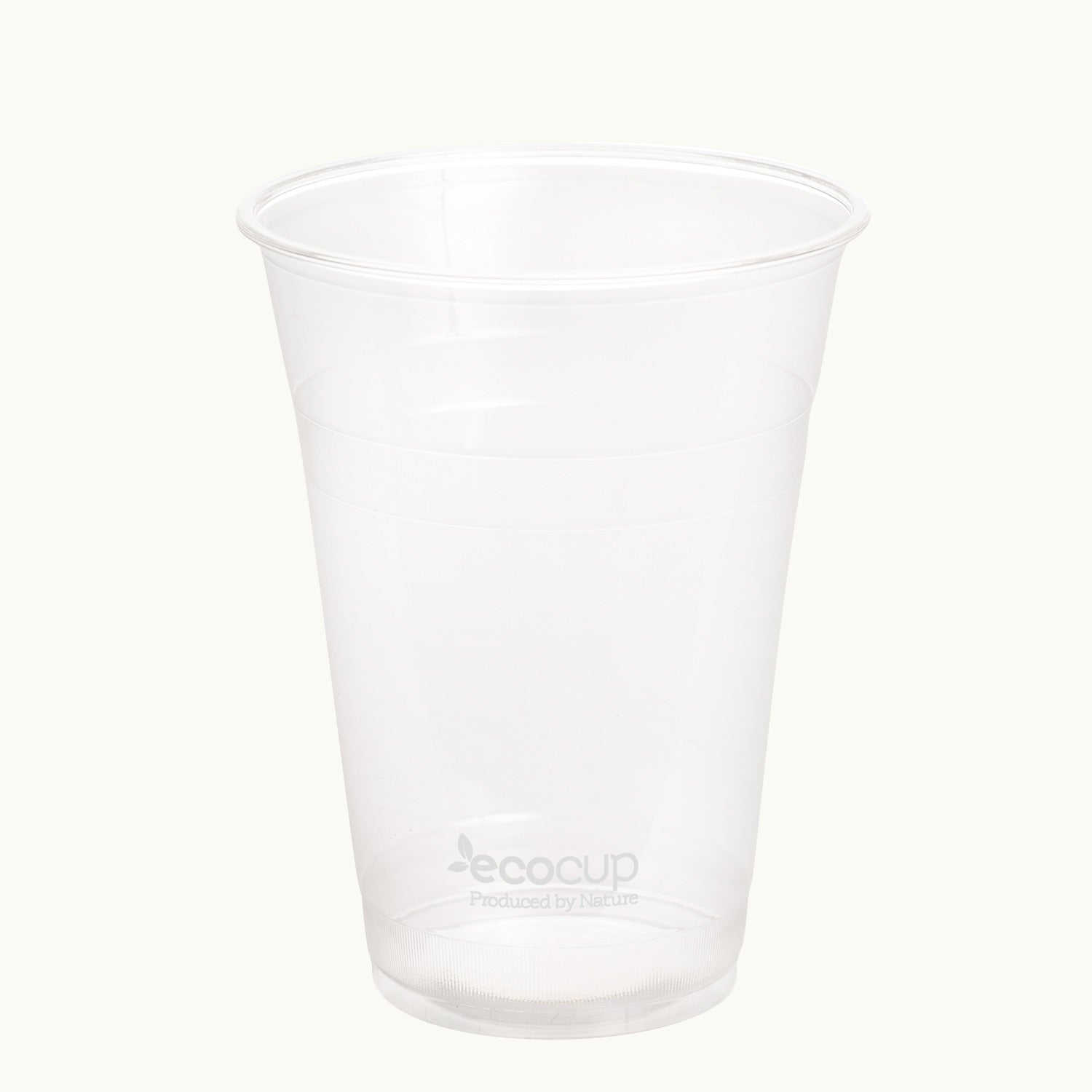 Clear EcoCup - White