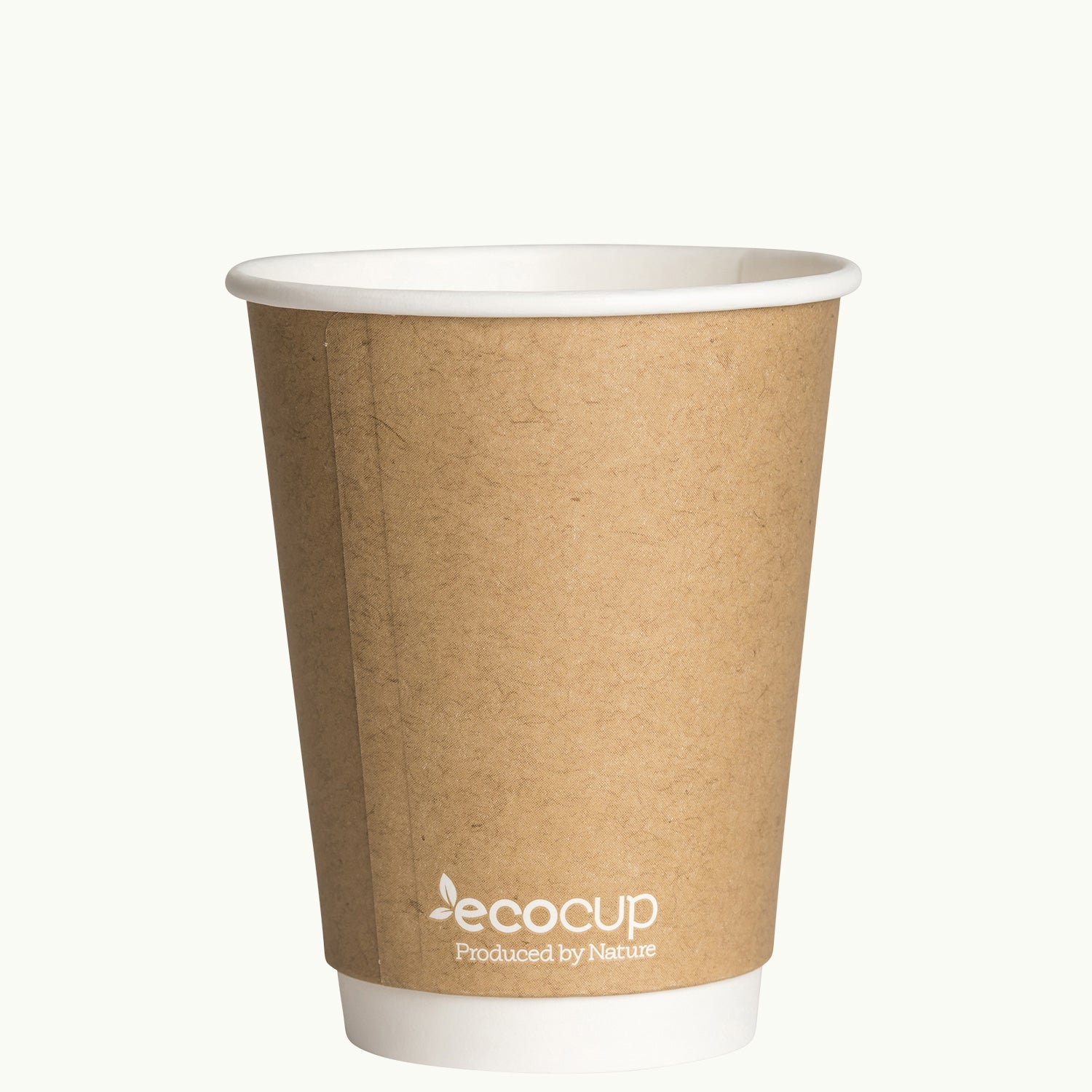 Double Wall EcoCup - KRAFT - FSC MIX