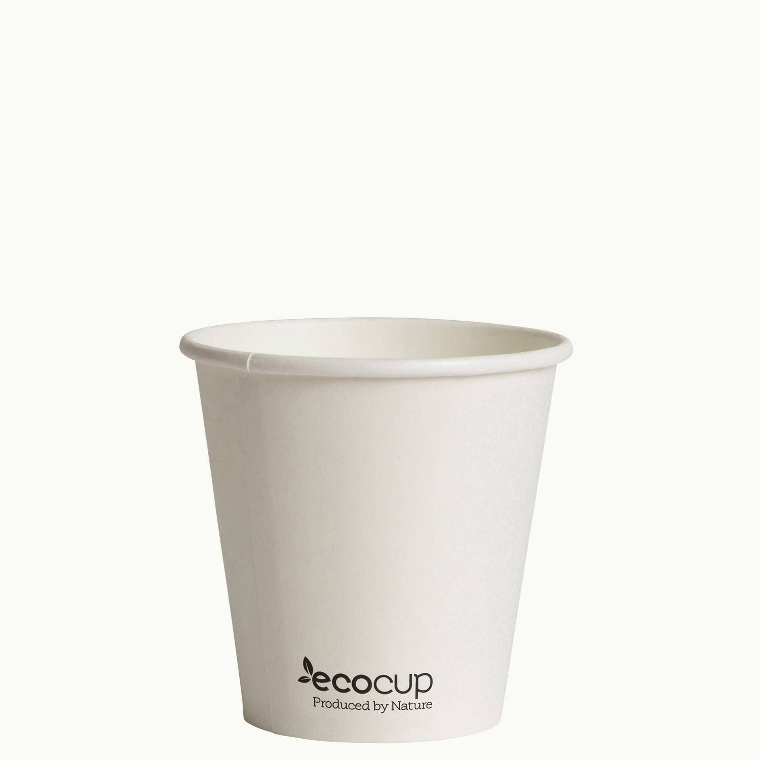 Single Wall EcoCup - WHITE - FSC MIX
