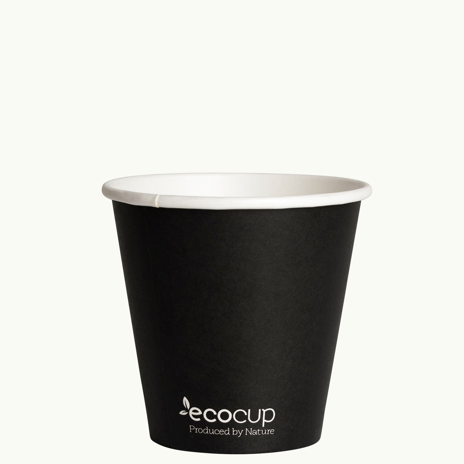 Single Wall EcoCup - BLACK - FSC MIX