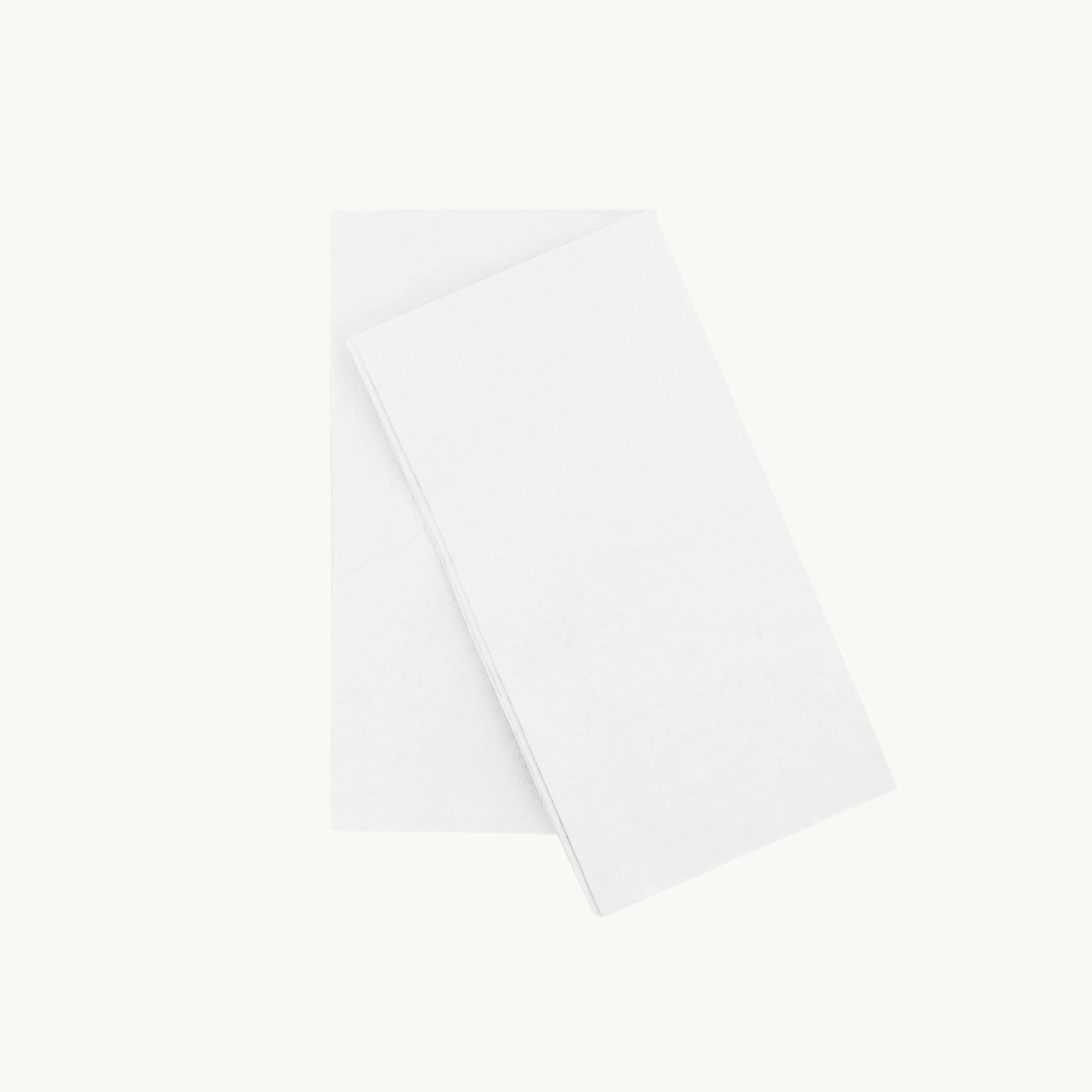 Eco Napkin - 8 Fold Quilted - Lunch - White - FSC RECYCLED