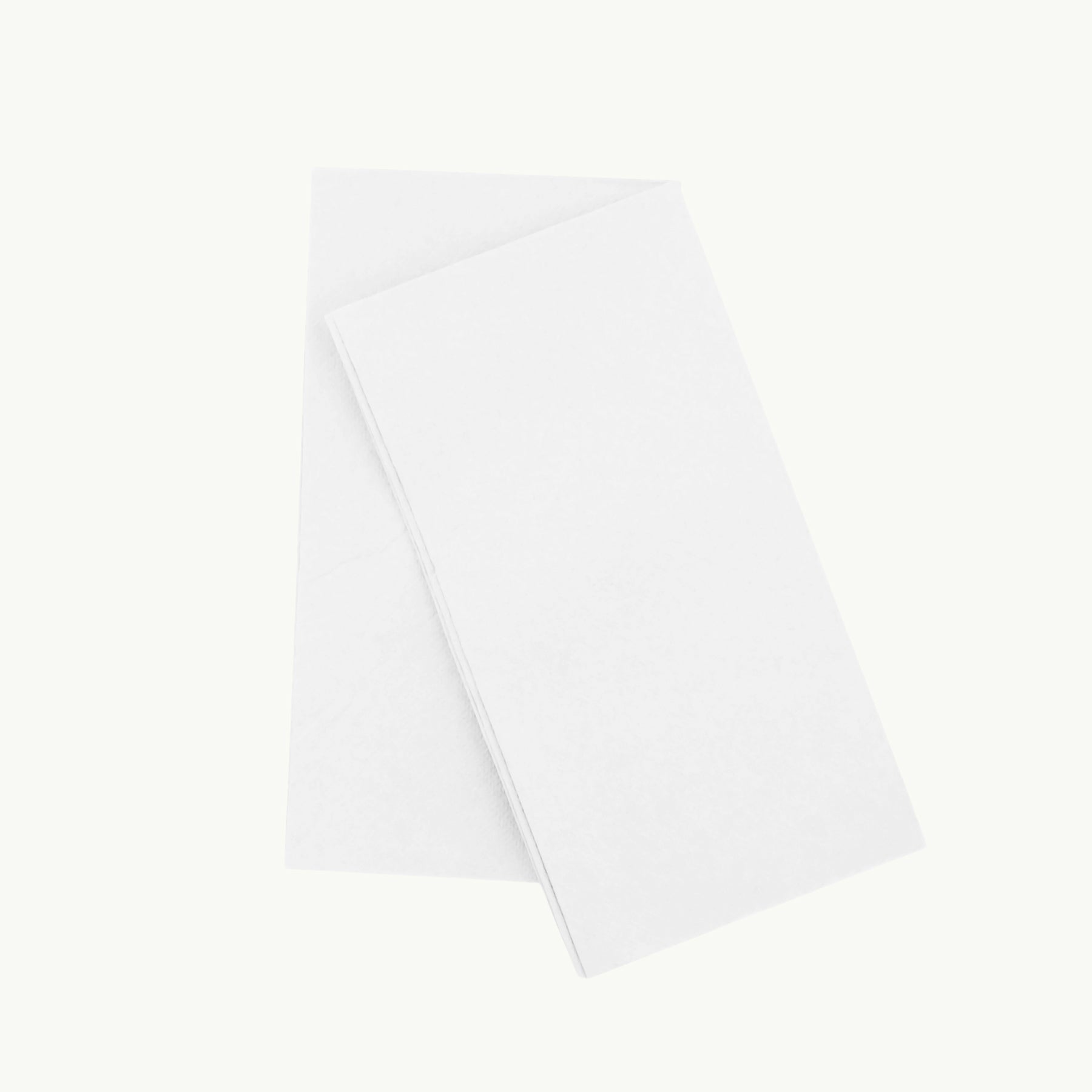 Eco Napkin - 8 Fold Quilted - Dinner - White - FSC MIX