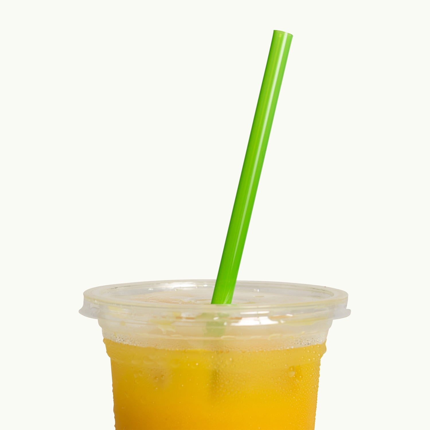 200mm Bioplastic Regular Straw