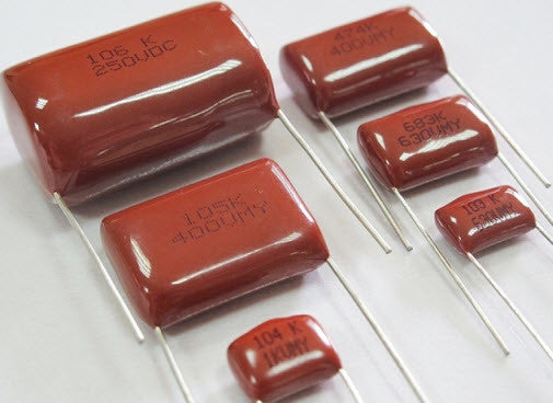 Assorted Polyester Capacitors
