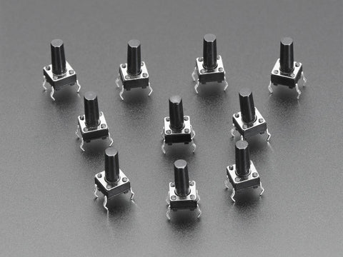 Tactile Switch Buttons (6mm tall)
